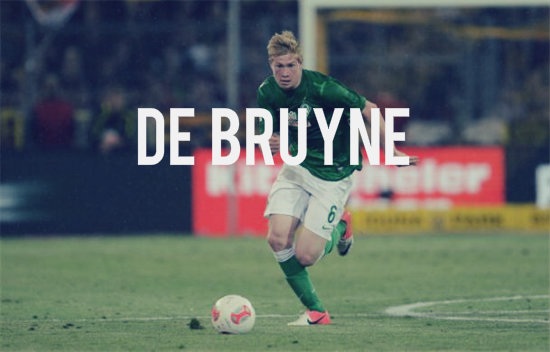 De Bruyne in action for Bremen