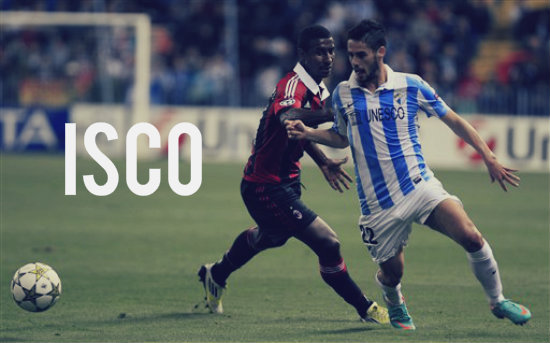Isco in action