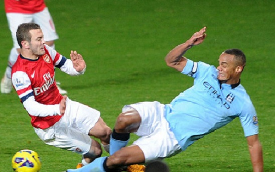 Kompany tackle