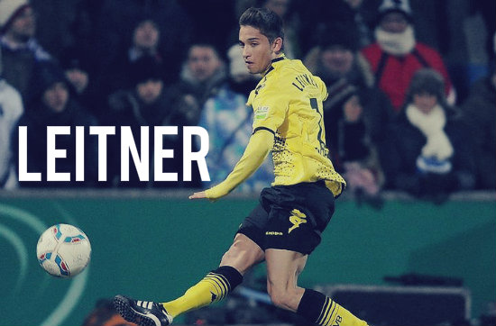 Moritz Leitner in action for Dortmund