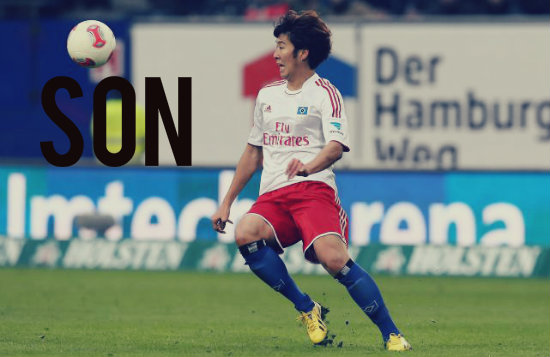Son in action for Hamburg