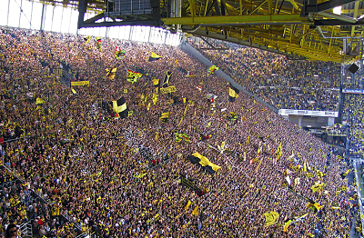 Dortmund Yellow Wall