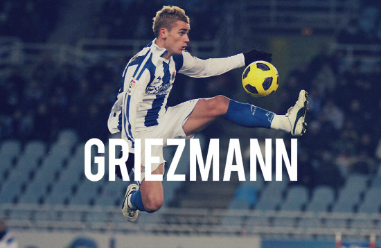 Griezmann in action
