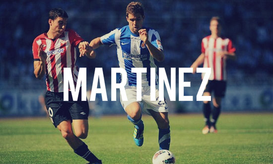 Martinez in action for Sociedad