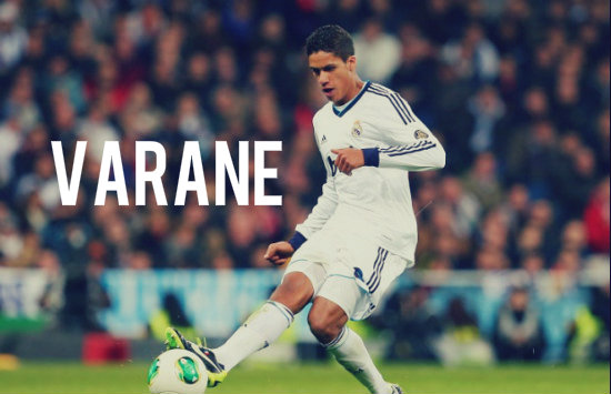 Varane in action for Real Madrid