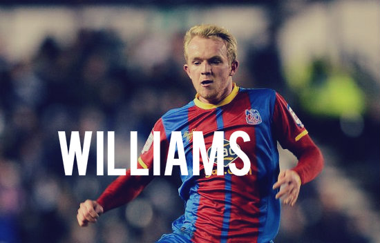 Williams in action for Crystal Palace