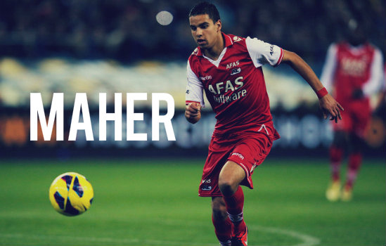 Maher in action for AZ