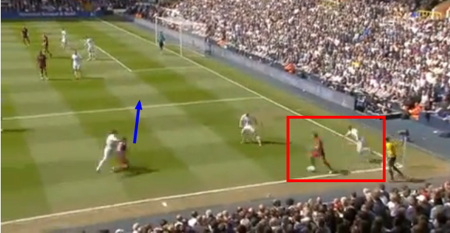 Tevez drags Vertonghen out of position for the goal.