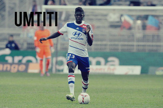 Umtiti in action for Lyon