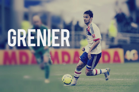 Grenier in action for Lyon