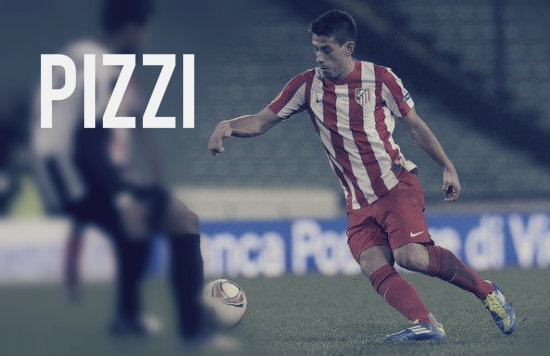 Pizzi in action for Atletico
