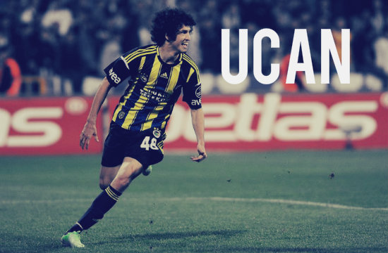 Salih Ucan in action for Fenerbahce