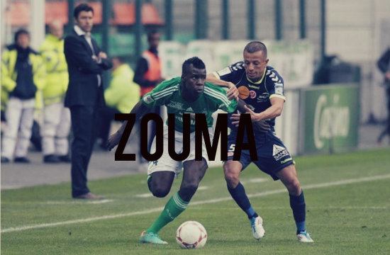 Zouma in action