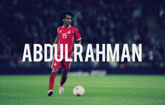 Abdulrahman in action