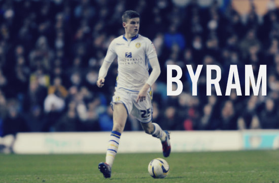 Sam Byram in action for Leeds