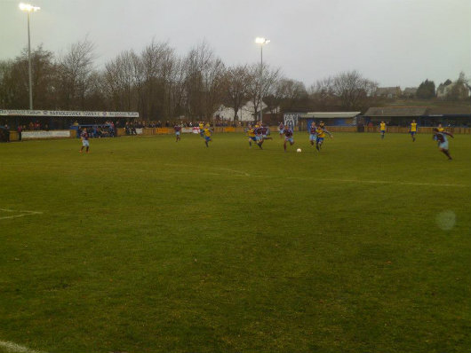 Groundhopping: when else would you have an excuse to visit the delights of Barnoldswick Town's Silentnight Stadium?