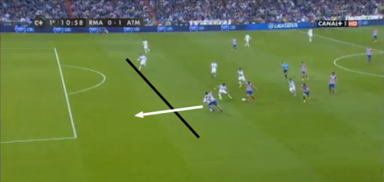 As seen here for the goal, Ramos played Costa on side (like he did on a number of occasions).