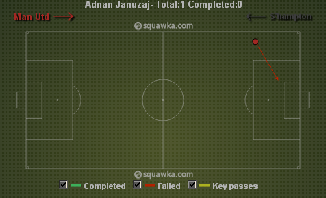 Januzaj cross