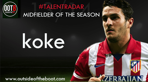 Talent Radar Midfielder of the Season 13-14