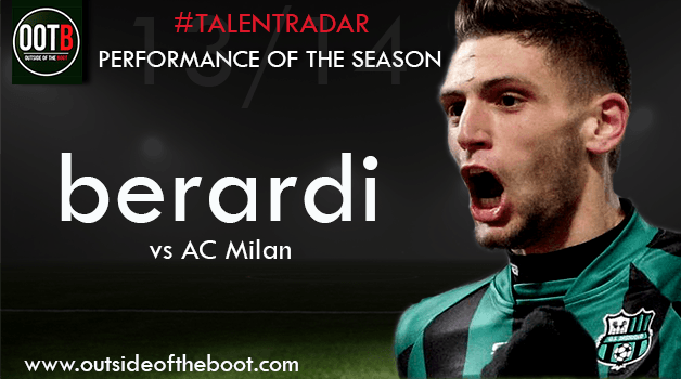Talent Radar Performance of the Season 13-14