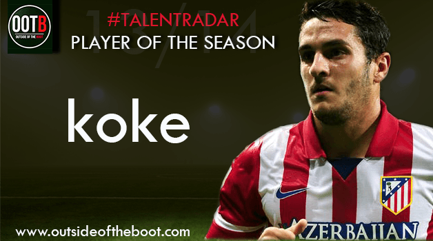 Talent Radar Player of the Season 2013-14