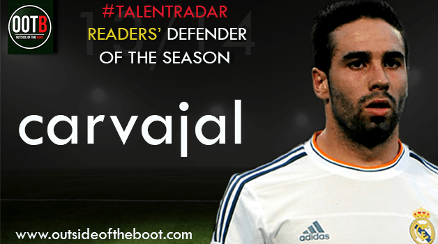 Talent Radar Readers' Defender of the Season 13-14