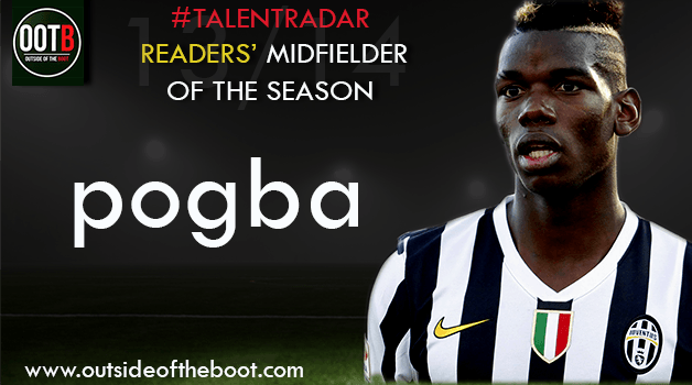 Talent Radar Readers' Midfielder of the Season 13-14