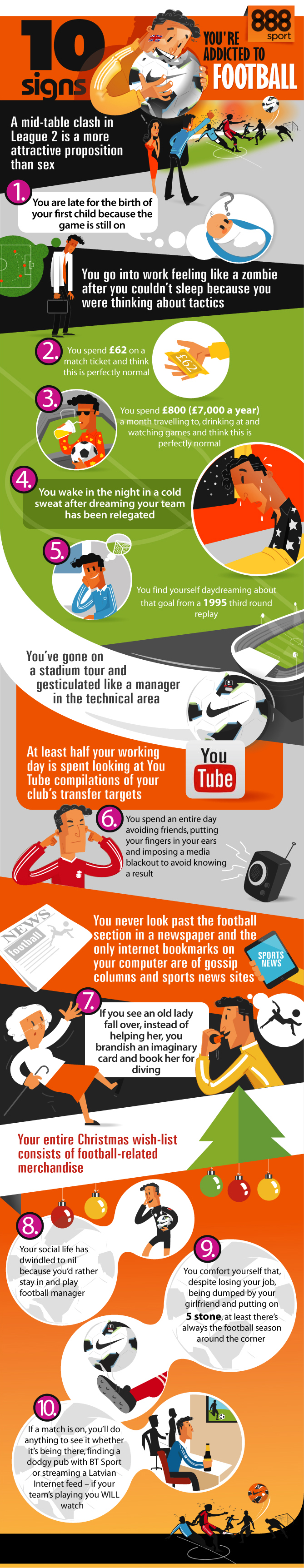Funny Football Infographic