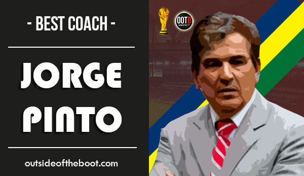 World Cup Best Coach Jorge Pinto