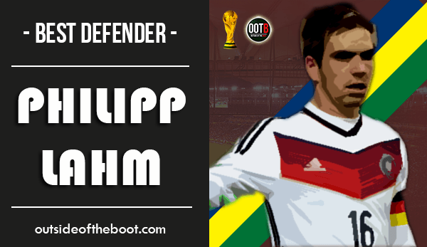 World Cup Best Defender Philipp Lahm