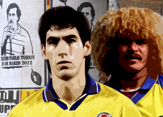 55883bbb9e5 20 years on: Colombia's original golden generation & subsequent Escobar  tragedy