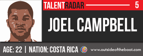 Joel Campbell World Cup Talent