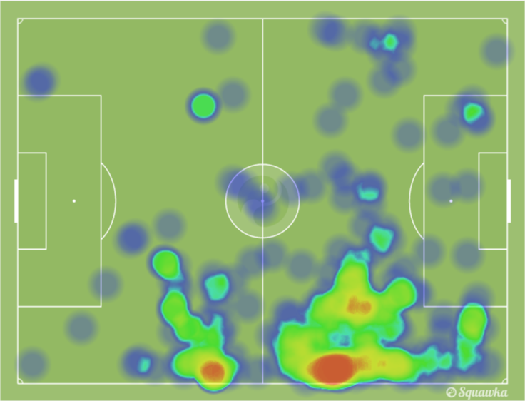 Heat Map: Lahm, Müller & Kramer | via Squawka