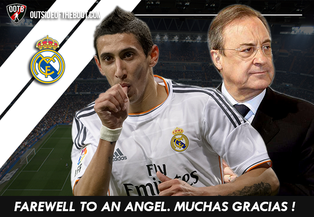 Di Maria Perez Real Madrid