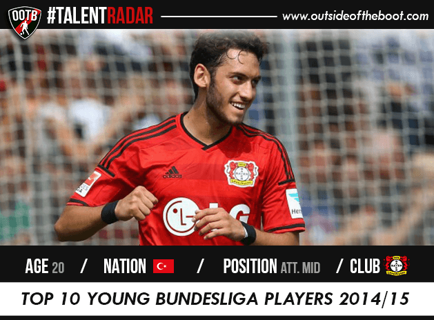Hakan Calhanoglu Bayer Leverkusen Talent