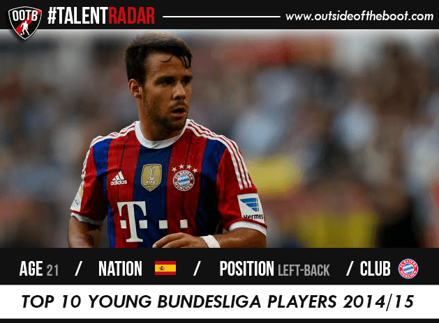 Juan Bernat Bayern Munich Talent