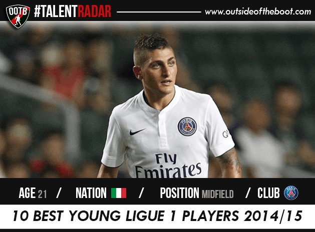 Marco Verratti PSG Talent