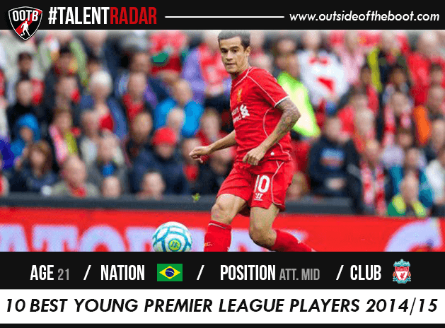 Philippe Coutinho Liverpool Talent
