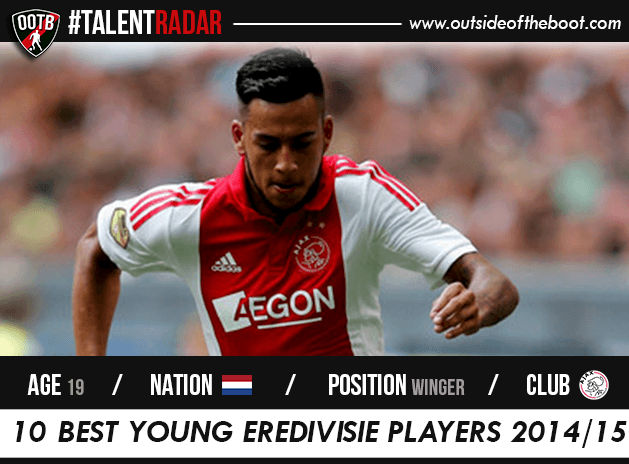 Ricardo Kishna Ajax Talent