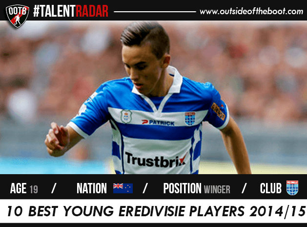 Ryan Thomas PEC Zwolle Talent