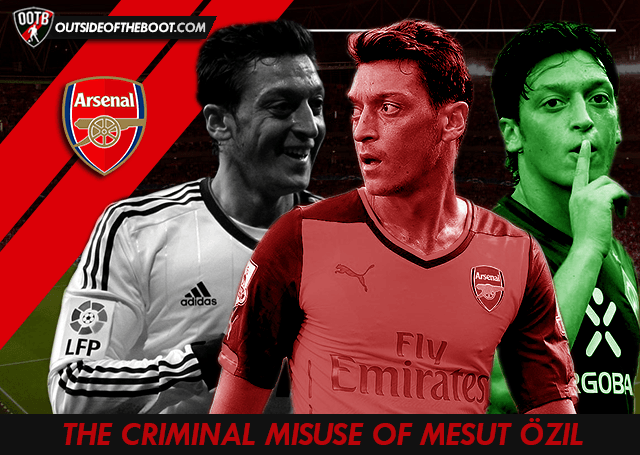 Mesut Ozil Arsenal 2014