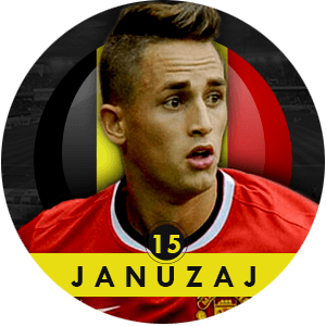 Adnan Januzaj 2015 | Best Young Players
