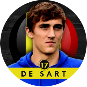 Julien De Sart 2015 | Best Young Players