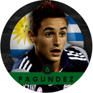 Diego Fagundez 2015 | Best Young Players