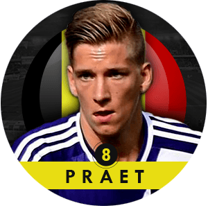 Dennis Praet 2015 | Best Young Players