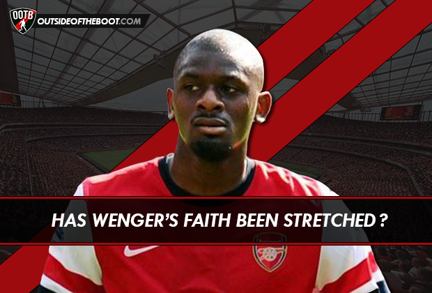 abou diaby has wenger s faith been stretched outside of the boot