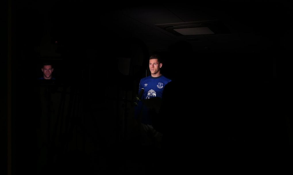 Everton behind the scenes