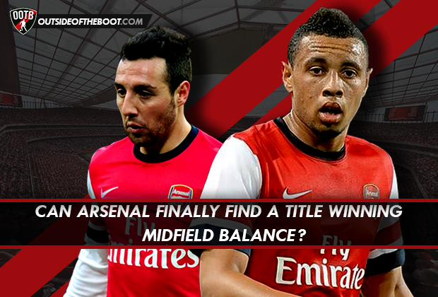 Arsenal title winning midfield balance