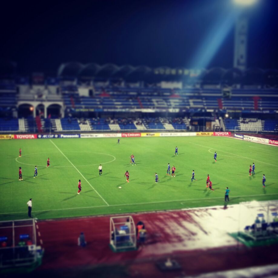 BFC vs Jayapura in the AFC Cup