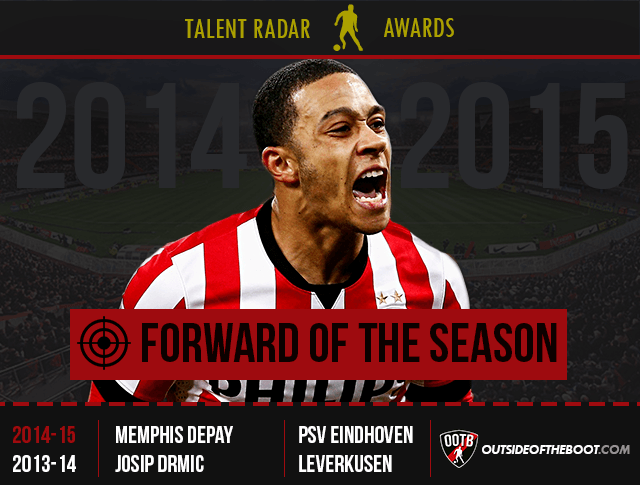 Talent Radar Forward of the Season 2014-15